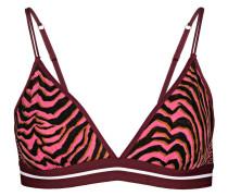 Triangel-BH UMA - schwarz/ pink/ braun