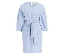 Kleid PHINA - blau/ weiss