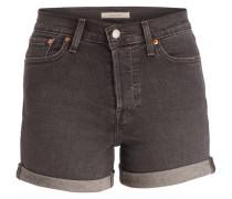 Jeans-Shorts - dunkelgrau