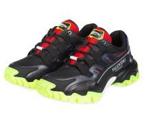 Sneaker CLIMBERS - SCHWARZ/ ROT/ NEONGELB