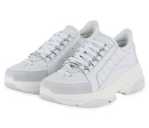 Plateau-Sneaker BUMBY 551 - WEISS