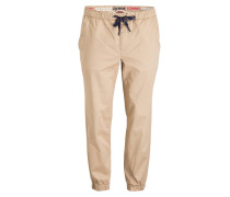 Cuffed-Chino Tapered-Fit - beige