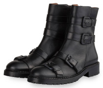 Biker Boots - SCHWARZ