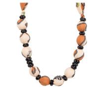 Halskette mit Seide