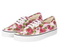 Sneaker AUTHENTIC - ROSA/ CREME/ ROT