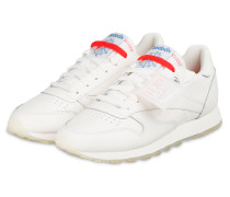 Sneaker CLASSIC LEATHER - WEISS/ ROT