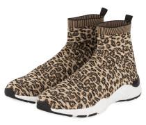Hightop-Sneaker - BRAUN/ SCHWARZ