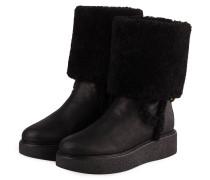 Plateau-Boots BONNI - SCHWARZ