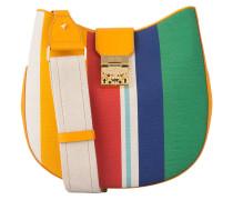 Hobo-Bag PATRICIA - ocker/ grün/ sand