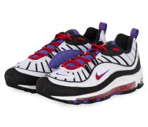 Sneaker AIR MAX 98 - WEISS/ SCHWARZ/ LILA