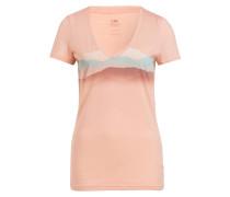 T-Shirt TECH LITE MISTY HORIZON mit