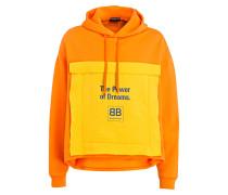 Hoodie - orange/ gelb