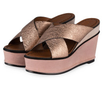 Wedges - ROSA METALLIC