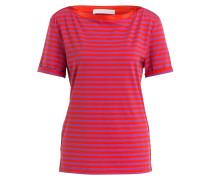 T-Shirt EMUNA - orangerot/ violett