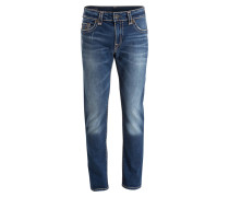 Jeans ROCCO Relaxed Skinny-Fit - blau