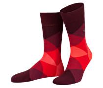 Socken CLYDE - 8375 claret