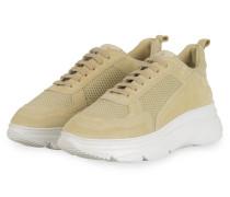 Plateau-Sneaker - HELLGELB