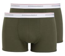 2er-Pack Boxershorts - khaki