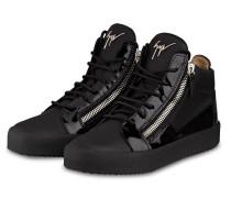 Hightop-Sneaker KRISS - SCHWARZ/ SILBER