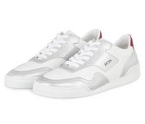 Plateau-Sneaker JODIE - WEISS/ SILBER