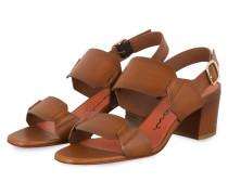 Sandaletten - BRAUN