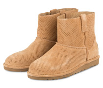 Boots CLASSIC UNLINED MINI - TAWNY