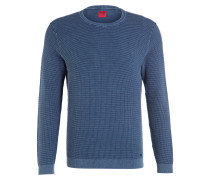 Pullover Level Five Casual body fit - blau