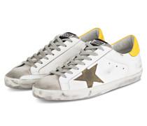 Sneaker SUPERSTAR - WEISS/ GRAU/ GELB