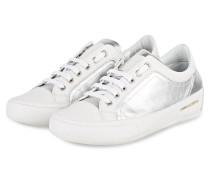Sneaker ROCK DELUXE - SILBER/ WEISS
