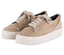 71a038e1f463e3 Plateau-Sneaker - TAUPE. Attilio Giusti Leombruni