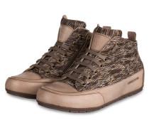 Hightop-Sneaker MID - BEIGE/ SCHWARZ