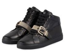 Hightop-Sneaker 16 ZIP CORNER - SCHWARZ