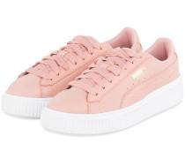 Plateau-Sneaker PLATFORM SHIMMER - ROSA