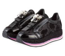 Plateau-Sneaker SONIA - SCHWARZ