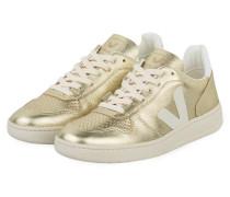 Sneaker V-10 - gold metallic