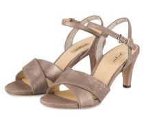 Sandaletten - taupe