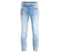Destroyed-Jeans Regular-Fit