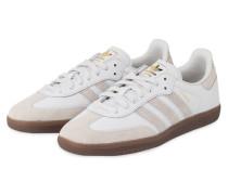 Sneaker SAMBA OG FT - WEISS/ GOLD