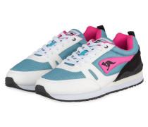 Sneaker OMNIRACER - PETROL / PINK / ECRU