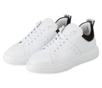 Sneaker SCOTT CALF - WEISS/ SCHWARZ