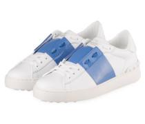 Sneaker OPEN - WEISS/ HELLBLAU