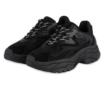 Plateau-Sneaker ADDICT - SCHWARZ