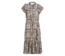 Kleid ERNIE mit Volantbesatz