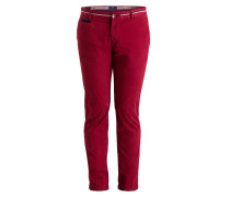 Chino Slim-Fit - rot