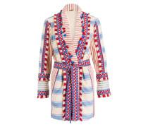 Kimono MIA - rot/ beige/ blau