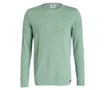Pullover - grün meliert