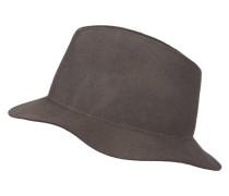 Hut mit Schmucksteinbesatz - taupe