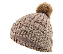 Mütze FILIPPA mit Kunstfellbommel