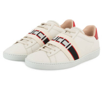Sneaker NEW ACE - ECRU/ ROT/ ROSA