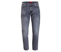 Destroyed-Jeans HUGO 332 Slim Tapered Fit